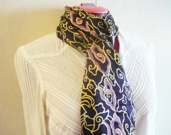 Bali Collection Scarf in Batik Silk - 10