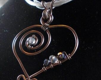 romantic Celtic inspired pendant