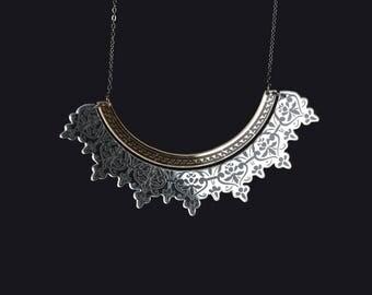 Bib - Bits-mirror Silver/Gold