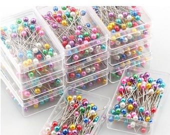 A box of 100 pins