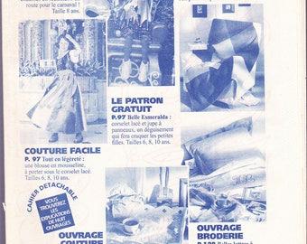 fashion and February 1998 costume child sewing pattern