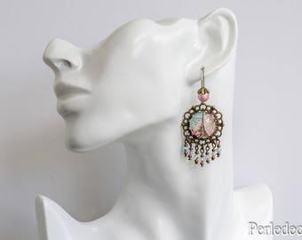 'Romantic Paris' swarovski crystal earrings
