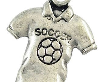 Soccer shirt charm
