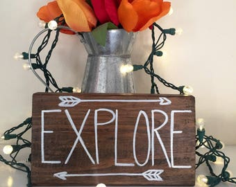 Explore wooden sign, wooden sign home decor, nursery decor, living room decor