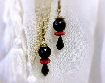 Black Pearl Earring