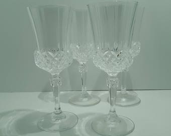 Crystal Glasses Set of Four