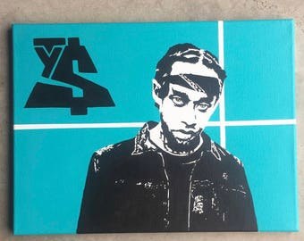Ty Dolla Sign Painting