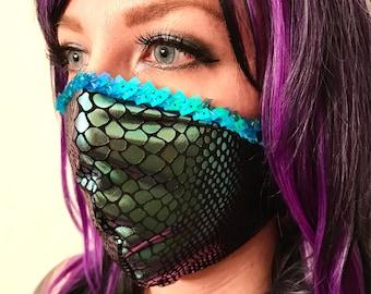 Mermaid dust mask