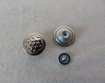 Special of Jean, diameter 17 mm metal button