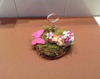 polymer clay baby picture frames