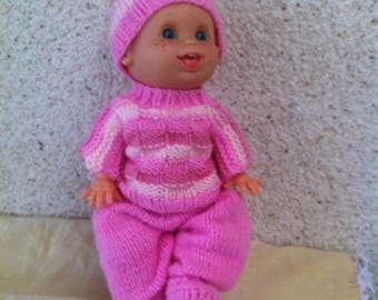 Pink set for small doll 30cm