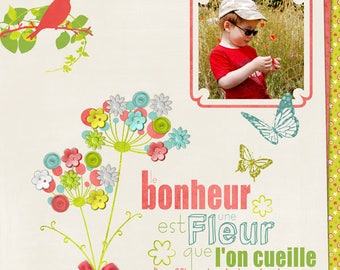 Cards for all occasions made of digital scrapbooking