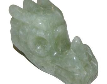 New 5cm jade dragon statue