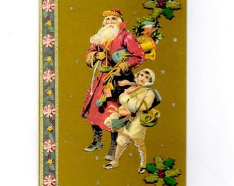 311 - Greeting card for new year celebrations St Nicolas