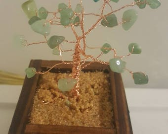 Aventurine Wire Tree