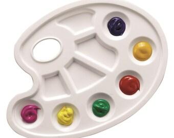 Palette de peinture ovale - GIOTTO - Ref 658300 ---------- Jusqu'à épuisement du stock !