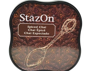 Ink permanent Spiced Chai - StazOn Midi - Ref TSSZM045