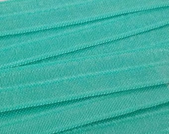 1.50 tape 15 mm width PALE green elastic