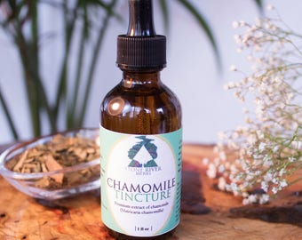 Chamomile Tincture 2oz - STRONG - Sleep Support - Calming Herbal Extract