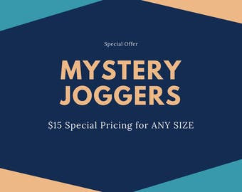 MYSTERY Joggers - Baby Joggers - Toddler Pants - Toddler Joggers - Newborn Pants - Baby Pants - Cloth Diaper Pants by Note Any Treble