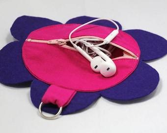 Your MP3 earplugs cellphone case