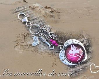 Door keys, jewelry bag you and me