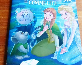 The snow Queen Book of 200 stickers complete sets and also coloring Stickers decal sticker