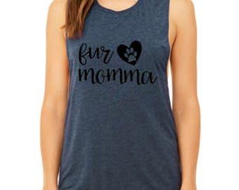 Fur Momma Muscle Tank