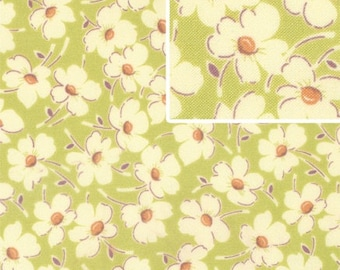 DISCOUNTED Amy Butler Wind Flowers 1/2 yard Linen in Gypsy Caravan Collection