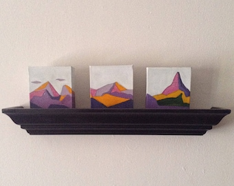 Mountain Trio