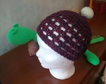 Summer Hat / summer Beanie purple