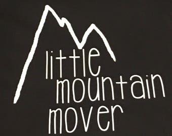 Onesie - Little Mountain Mover Original