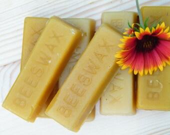 Pure Bees Wax Bar ~ 1 oz Wax Bar ~ Crafter's Beeswax Bar ~ Lip Balm Wax