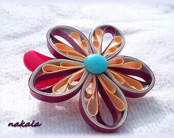 * PROMOTION * unique hair clip flower hair clip