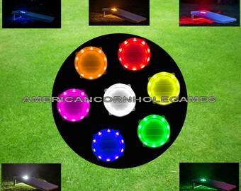 Cornhole LED Light Sets -Seven Color Choices! QUALITY GUARANTEED!