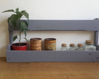 Upcycled wooden Spice rack
