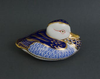 Royal Crown Derby porcelain paperweight