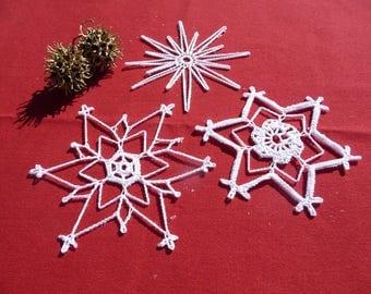 Doilies crochet for Christmas decoration