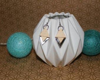 Geometrik earrings