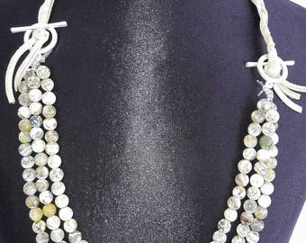 Nature Stone beads Necklace
