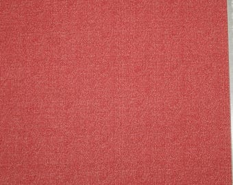"""Embroidery patchwork red rose - Andover - """"Wickerweave"""" - 01 faux plain."""