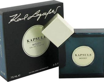 Karl Lagerfeld Kapsule Woody for women and men75ml 2.5 oz rare