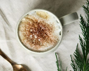 Mist mug - tea mug - coffee mug - ceramic mug - satin matt grey mug - hand made pottery - large cup - stoneware - matt glaze - porcelain
