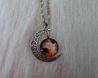 Necklace red giant supernova