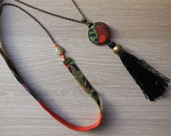 Liberty necklace and black tassel