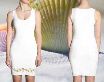 Goldierra Dress - Gold Panta Rhei