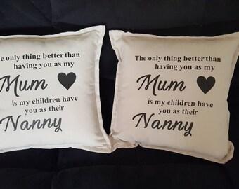 Nanny pillow