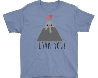 I Lava You Youth Short Sleeve T-Shirt