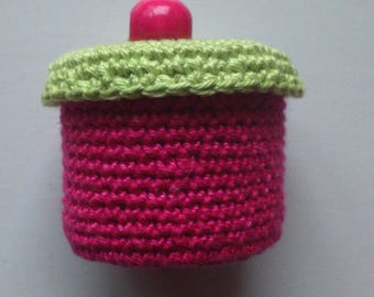 box color matching Fuchsia pink and green