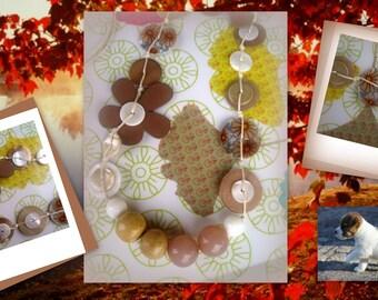 NECKLACE * autumn colors